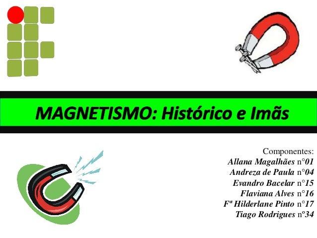 Componentes: Allana Magalhães n°01 Andreza de Paula n°04 Evandro Bacelar n°15 Flaviana Alves n°16 Fª Hilderlane Pinto n°17...