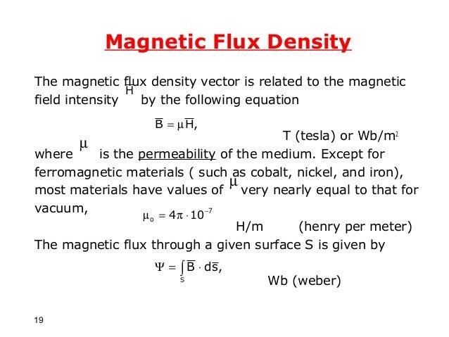 magnetic flux density formula - photo #27