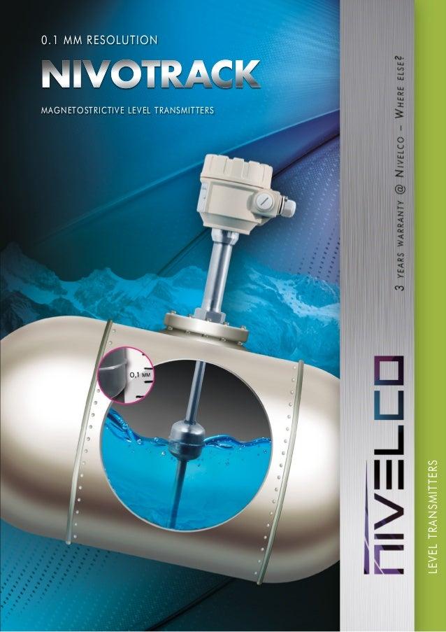 MAGNETOSTRICTIVE LEVEL TRANSMITTERS LEVELTRANSMITTERS 0.1 MM RESOLUTION