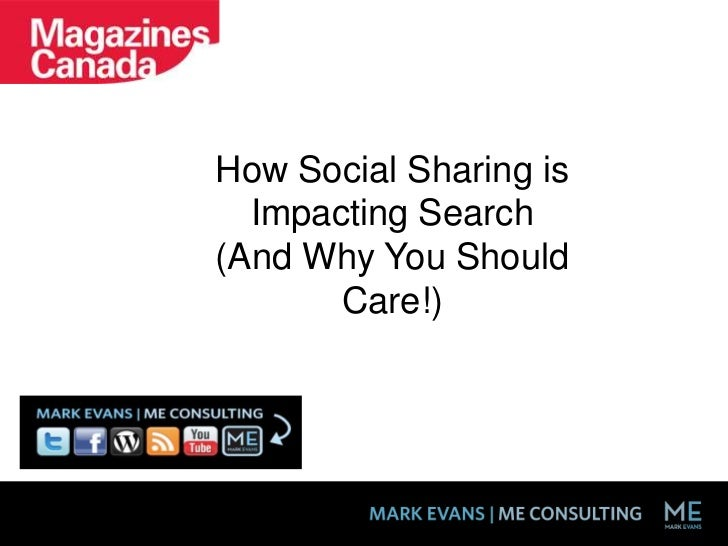 How Social Sharing is Impacting Search <br />(And Why You Should Care!) <br />