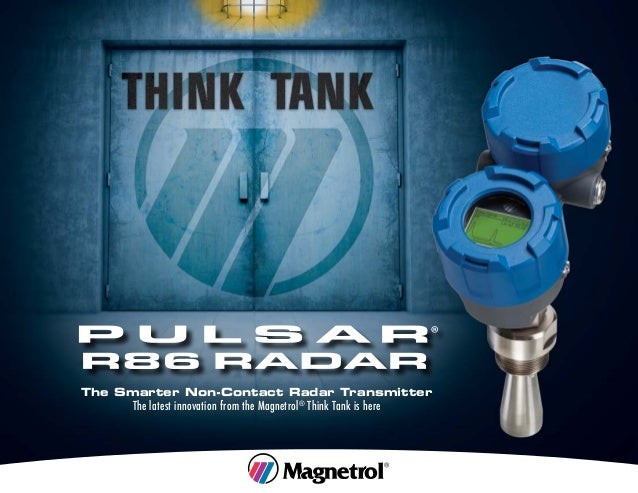 The Smarter Non-Contact Radar Transmitter The latest innovation from the Magnetrol® Think Tank is here