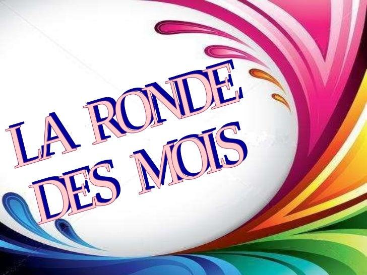 LA  RONDE  DES  MOIS