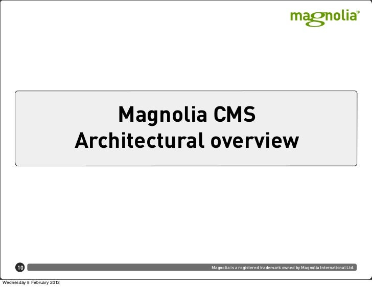 Integration possibilities with Magnolia CMS