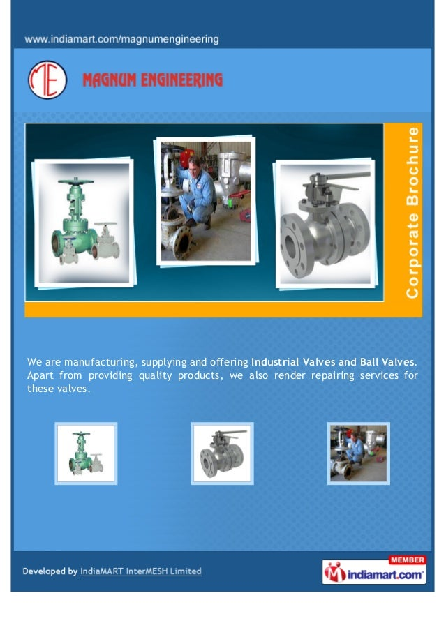 We are manufacturing, supplying and offering Industrial Valves and Ball Valves. Apart from providing quality products, we ...