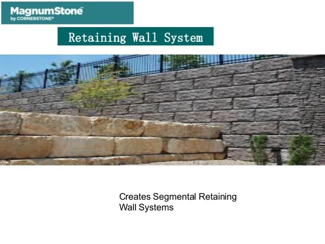 Big Block Retaining Wall System