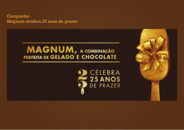 Campanha: Magnum celebra 25 anos de prazer