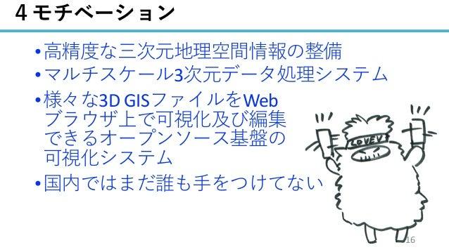 / 68 • • 3 • 3D GIS Web • 16