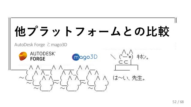/ 68 AutoDesk Forge mago3D 52