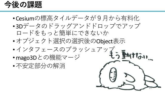 / 68 •Cesium •3D • Object • •mago3D • 67