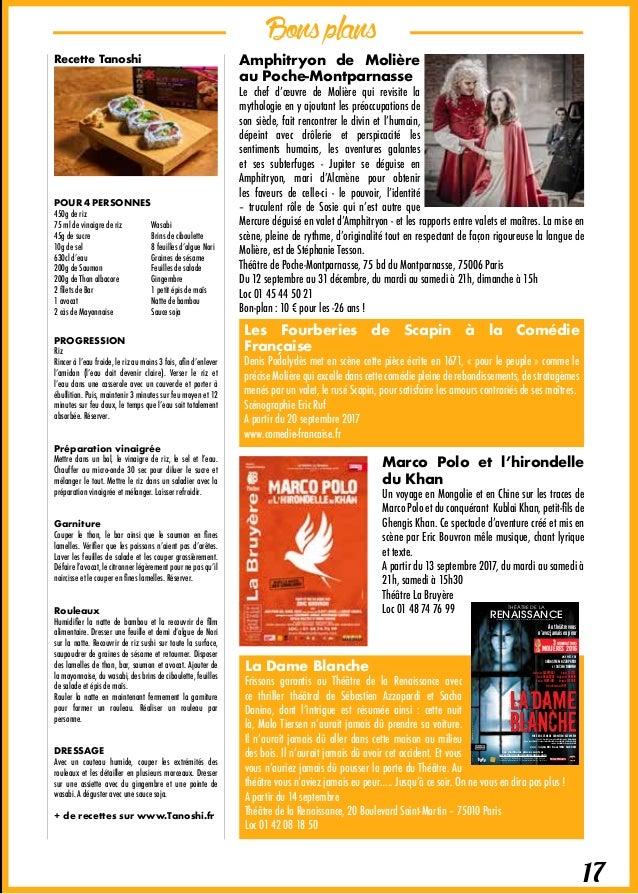 Bonsplans 18 Concert d'ouverture de saison de l'Orchestre de Paris Si vous ne connaissez toujours pas la Grande salle Pier...