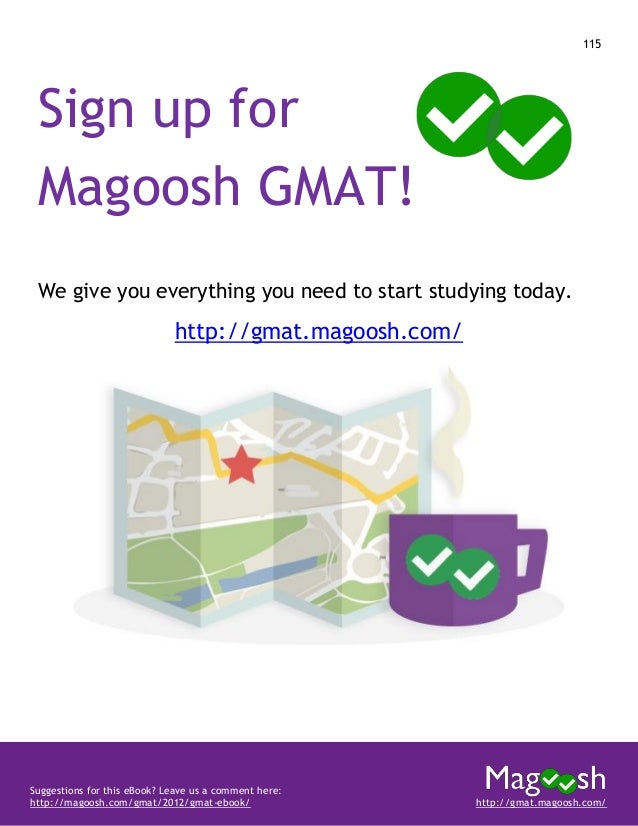 Magoosh's Complete Guide to the GMAT