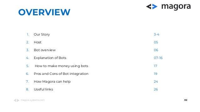 Magora webinar on automation bots  Slide 2