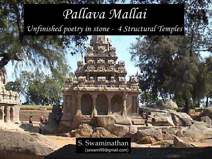 Mahabalipuram Monuments - Part 4 (Structural temples)