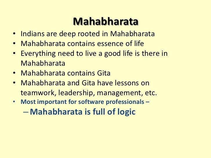 Management Principles From Mahabharata