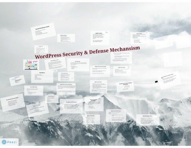 Mahadev Subedi: WordPress Security & Defense Mechanism