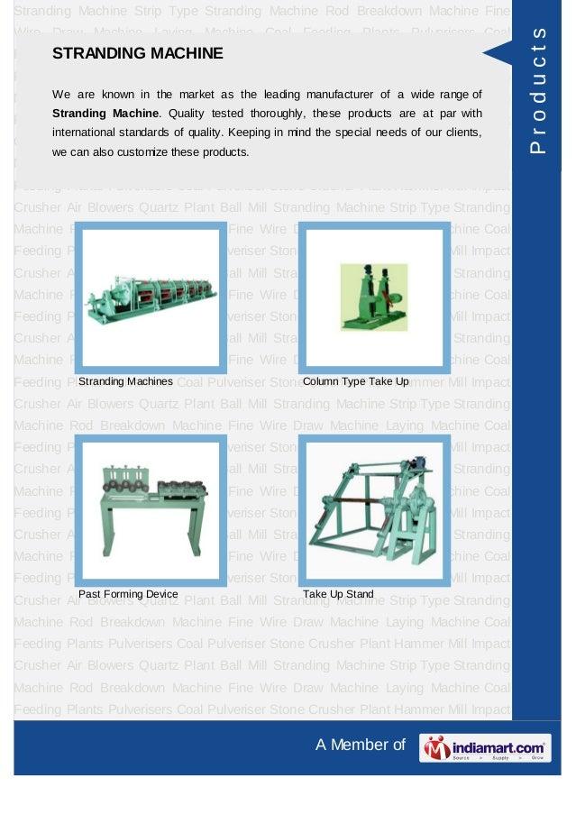 Mahalaxmi Engineering Works, Jaipur, Plant Equipment Slide 3