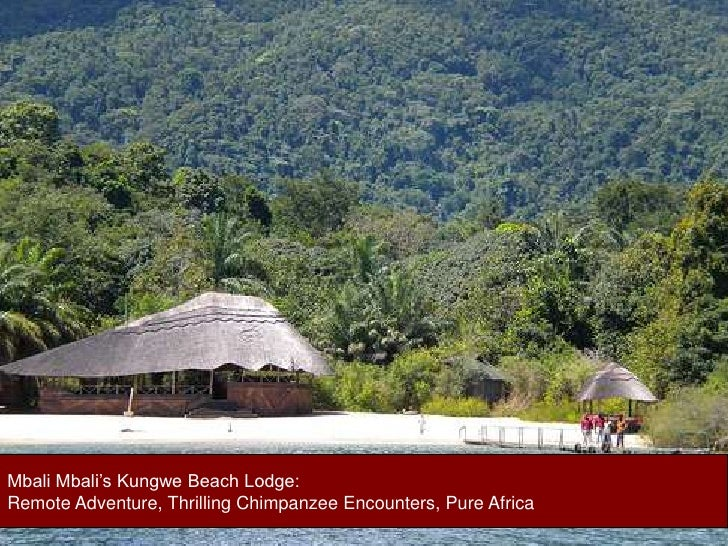 Mbali Mbali's Kungwe Beach Lodge: <br />Remote Adventure, Thrilling Chimpanzee Encounters, Pure Africa<br />