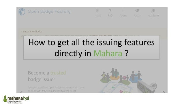 Mahara hui uk 2015 slideshare