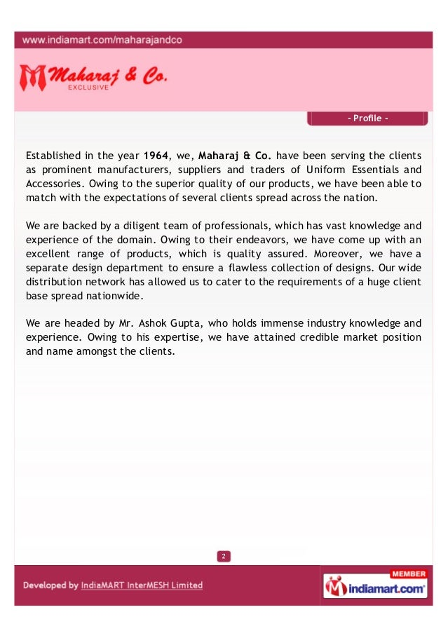 Maharaj And Company, Ludhiana, Accessories Slide 2