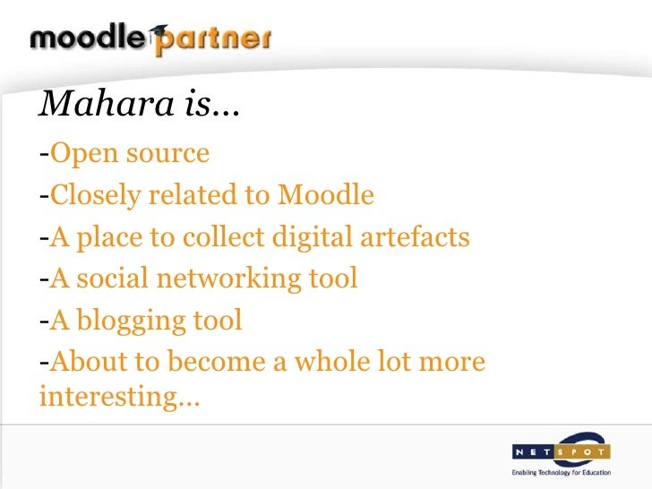 Mahara - the Next Generation Slide 2
