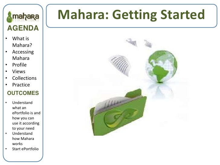 Mahara: Getting Started<br />