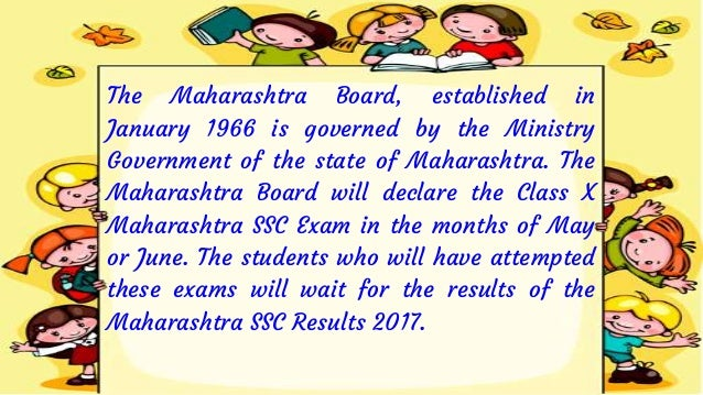 There are a total of 9 Grades in Xth board or Maharashtra SSC Result 2017. This Grading System for Class X Students is sub...
