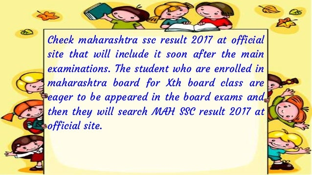 Maharashtra SSC Result 2017 Appeared On The Web Portal