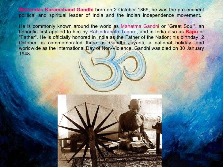 Mahatma Biography