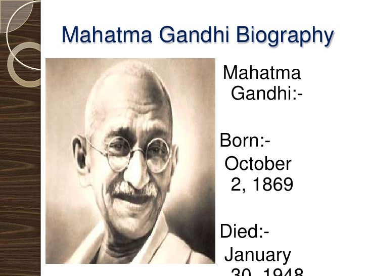 "mahatma gandhis autobiography essay Mohandas gandhi (1869-1948): gandhi, mahatma autobiography: the story of my experiments with truth new york: dover, 1983 ""mahatma gandhi timeline."