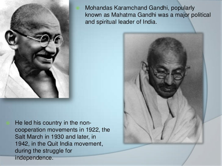 mahatma gandhi leadership styles Mahatma gandhi a prominent leader explain whether the leader's style is transactional or transformational what type of leadership characteristics does the.