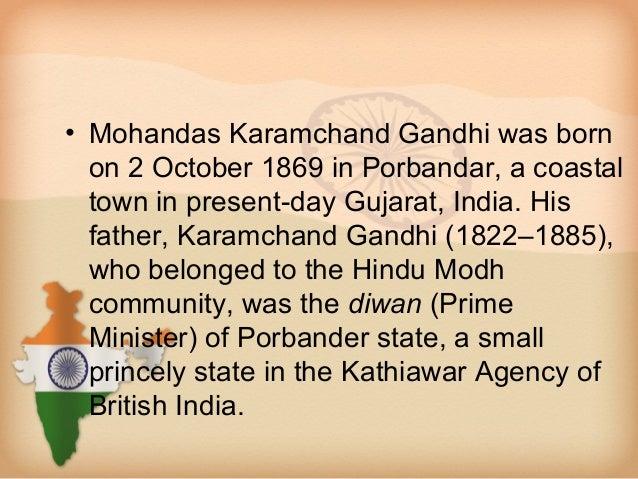 Mahatma gandhi Slide 2