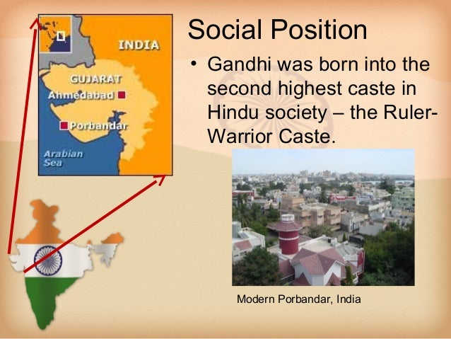 Mahatma gandhi Slide 3