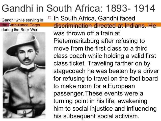 Biography of Mahatma Gandhi : 1869-1948