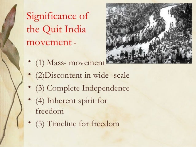 the indian national movement a mass movement history essay Find out more about the history  an influential leader in the indian independence movement  jawaharlal was elected president of the indian national.