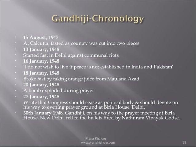 Is Mahatma Gandhi An Incarnation