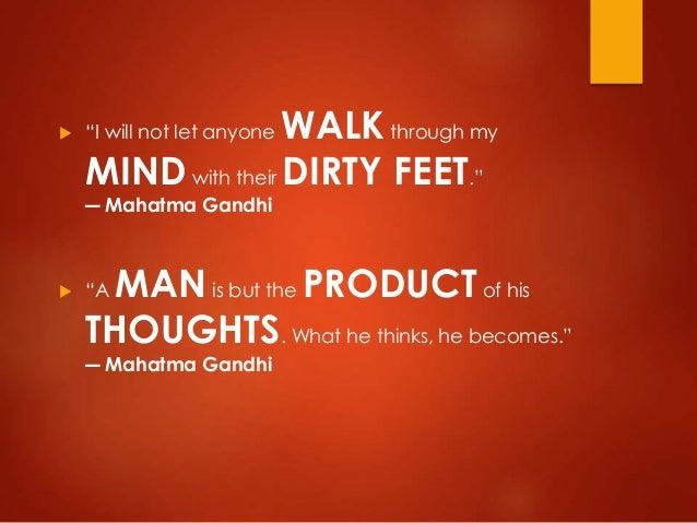 Mahatma Gandhi's Quotes on Life
