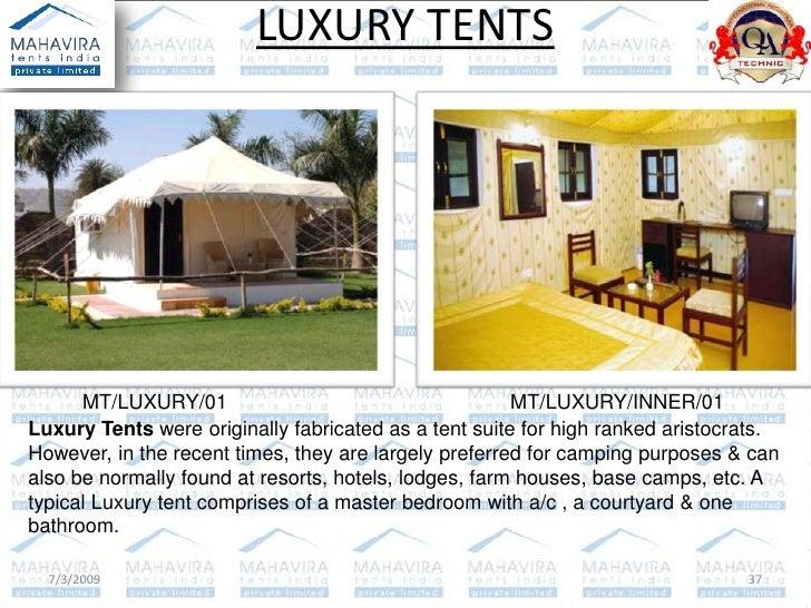 ... 37.  sc 1 st  SlideShare & Mahavira Tents (India) P Ltd