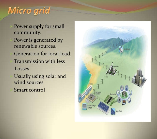 Microgrid. Ppt | distributed generation | electrical grid.