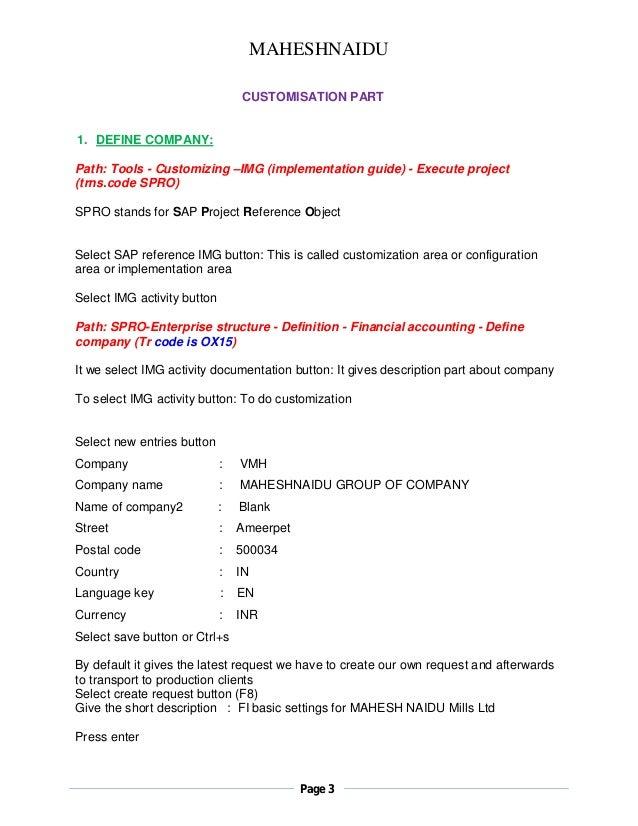 Pdf as sap notes