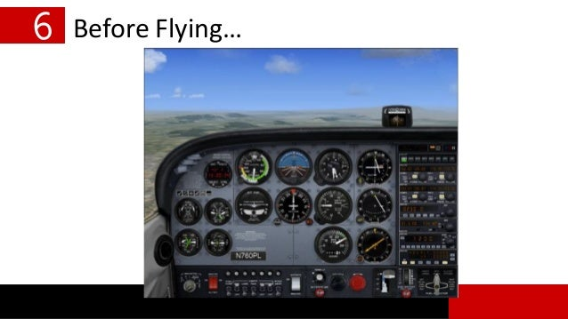 6 Before Flying…