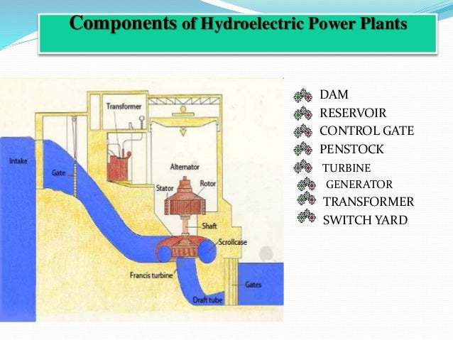 Mahi hydro power plant summer industrial training presentaion