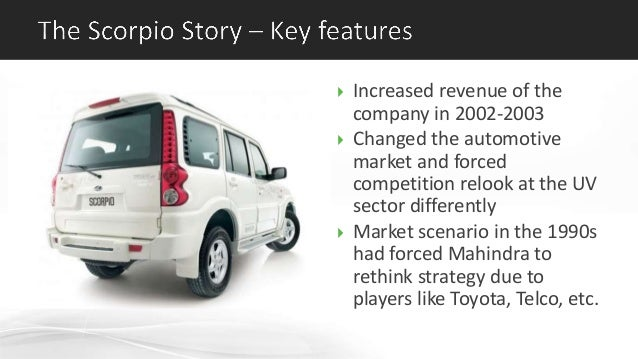 mahindra scorpio case Buyer's guide take a test drive i  i hereby agree and authorize mahindra & mahindra limited and all of its divisions, affiliates,   in case of a call drop,.