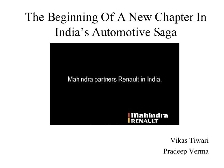 The Beginning Of A New Chapter In India's Automotive Saga Vikas Tiwari Pradeep Verma