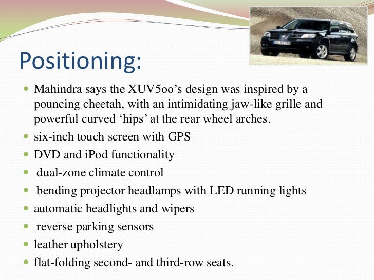We include … Safety features:•   Electronic stability control(ESC)•   Rear backup alert system Emerging safety technolog...