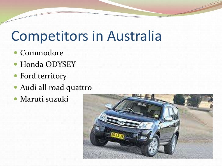 Strategies adopted to compete        the competitors