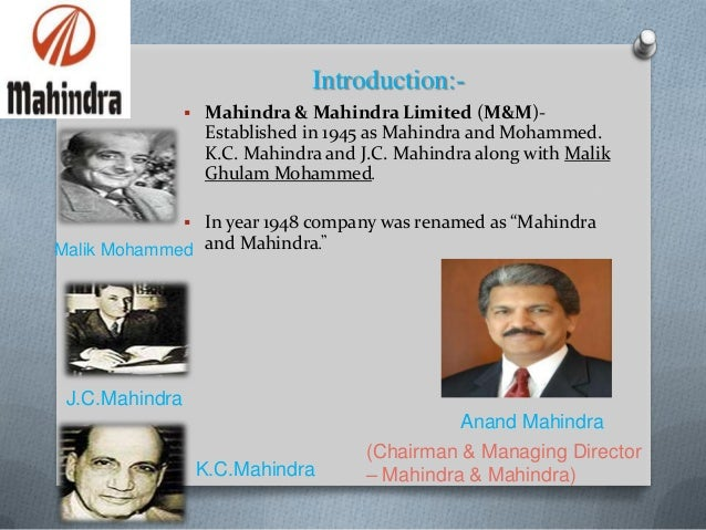 mahindra and mahindra business overview We are mahindra cie is a multi-technology automotive components supplier listed on the stock exchanges in mumbai we are an alliance between the cie group which holds the majority stake and the mahindra group which also has a significant stake.