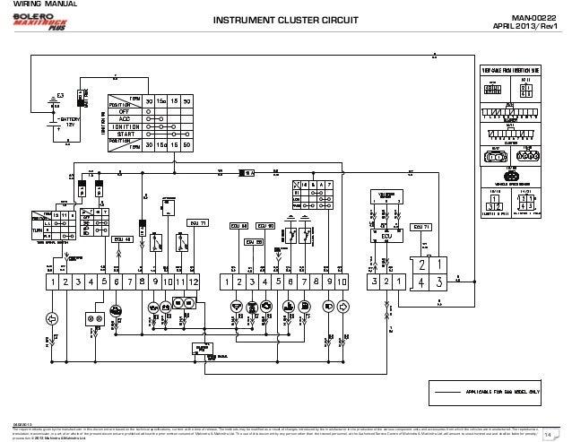 Mahindra Wiring Diagram - General Wiring Diagrams on
