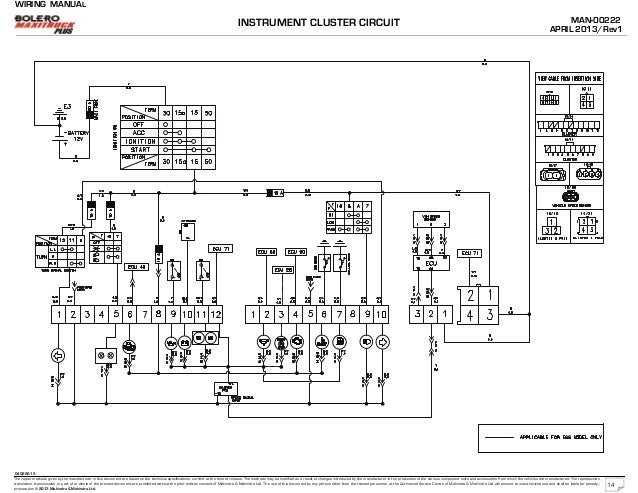 mahindra bolero wiring rh slideshare net Mahindra Tractor Ignition Wiring Diagrams Mahindra Tractor Wiring Diagram