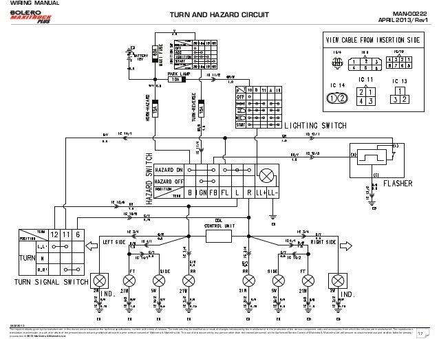 Mahindra Wiring Diagrams - Wiring Diagram Verified on