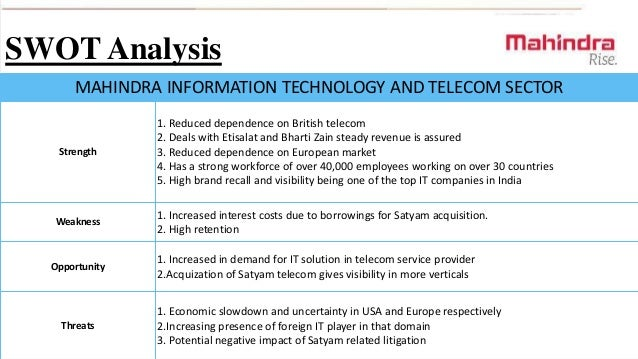 Marketing analysis of the telecommunications provider